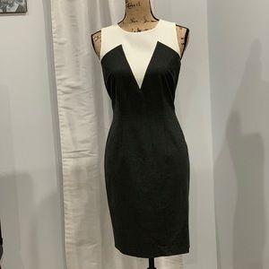 🛍 Ann Taylor colorblock sheath dress size 4